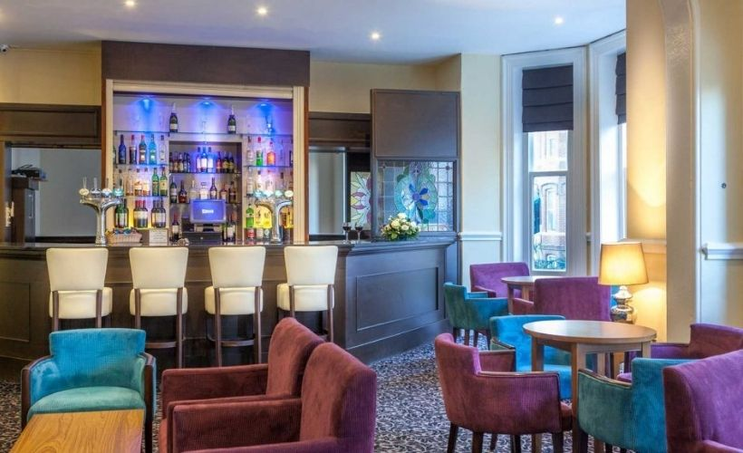 Dining at Durley Dean Hotel